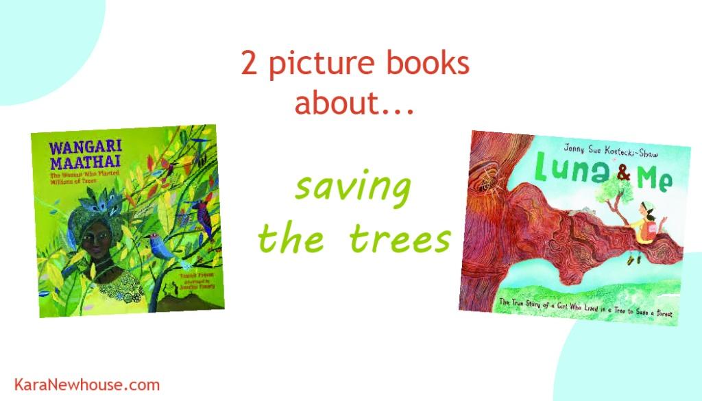 2 pic books trees