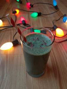 Vegan Thin Mint Smoothie