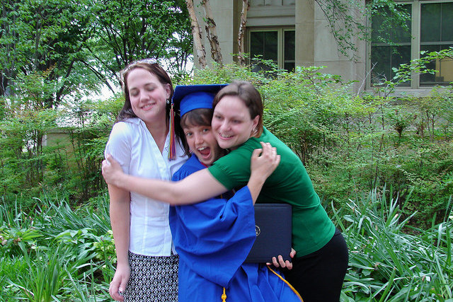 AU graduation